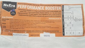 A NuEra Nutrition PERFORMANCE BOOSTER